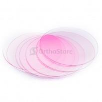 Пластины SD для капп круглые (0,75мм) твердые